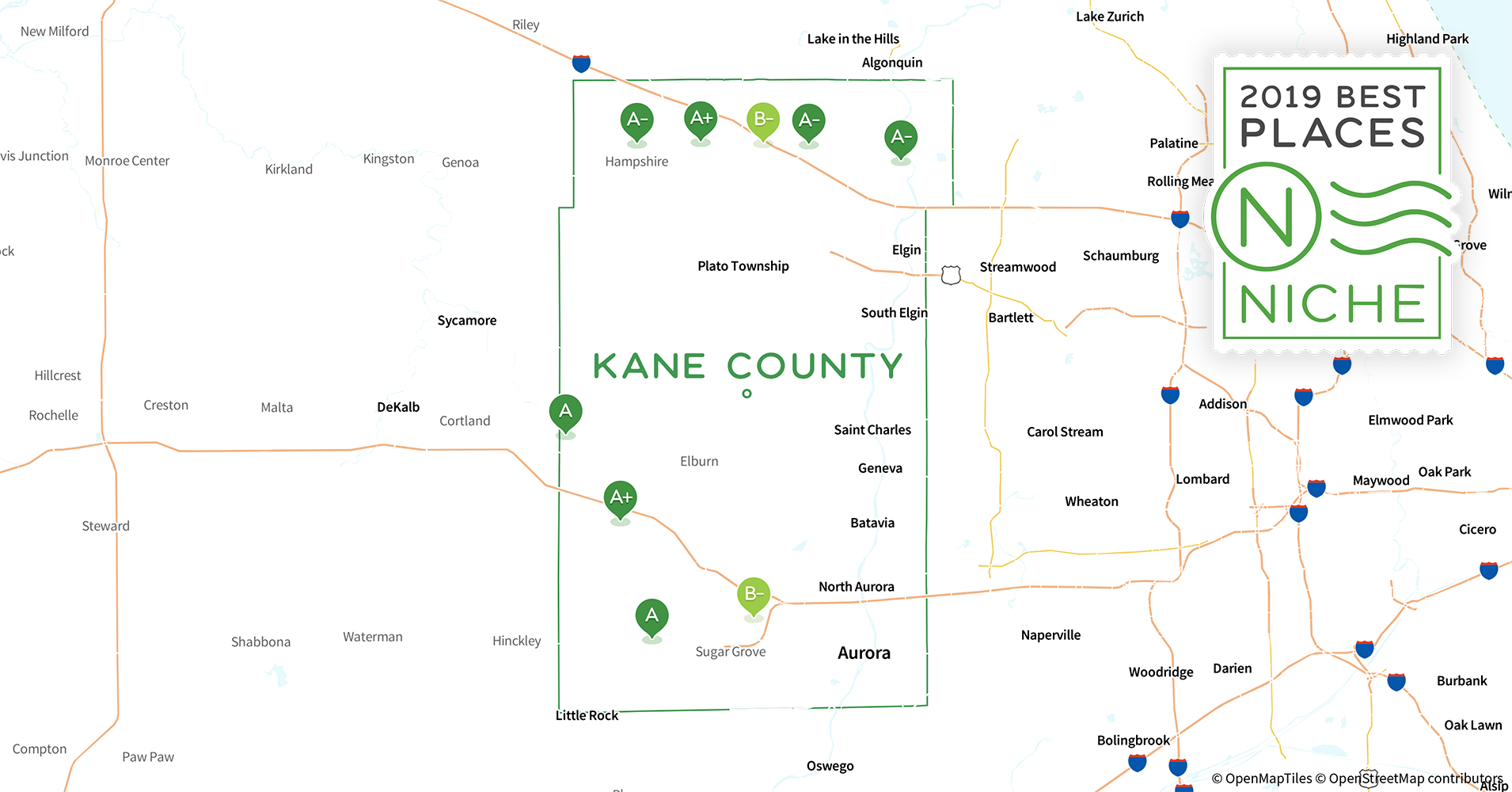 2019 Best Places to Live in Kane County, IL - Niche Kane County Il Map Of Counties on map of union county il, map of stark county il, map of henderson county il, map of dupage county il, map of st. clair county il, towns in kane county il, map of rock island county il, map of richland county il, map of cook county il, map of stephenson county il, map of jasper county il, map of bond county il, map of mcdonough county il, map of schuyler county il, map of franklin county il, map of woodford county il, map of gallatin county il, map of jo daviess county il, map of jersey county il, map of lake county il,