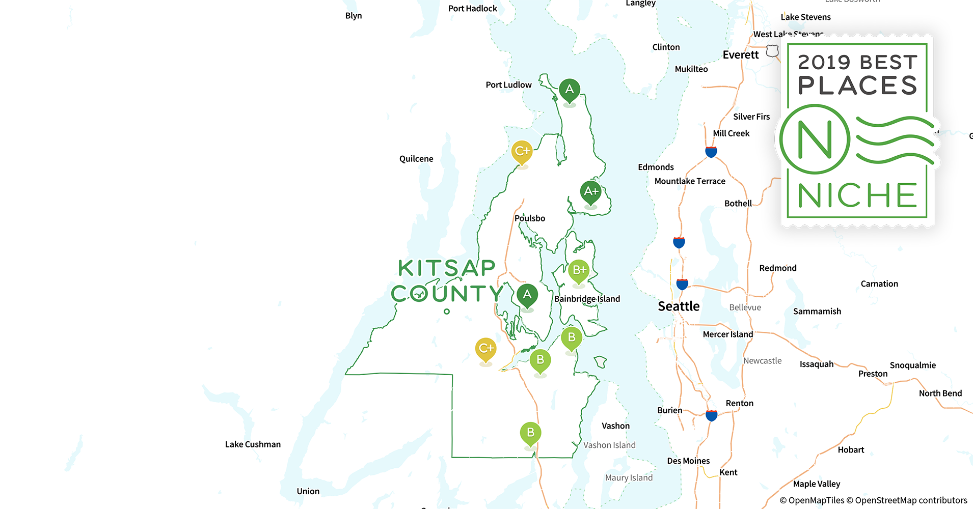2019 Best Places to Live in Kitsap County, WA - Niche Kitsap County Washington State Map on edmonds washington state map, anacortes washington state map, moses lake washington state map, tukwila washington state map, burien washington state map, olympic national park washington state map, ellensburg washington state map, douglas county washington state map, jefferson county washington state map, city of everett washington state map, snohomish county washington state map, university of washington washington state map, south king county washington state map, united states washington state map, hood canal washington state map, okanogan county washington state map, port angeles washington state map, mount rainier washington state map, richland washington state map, federal way washington state map,