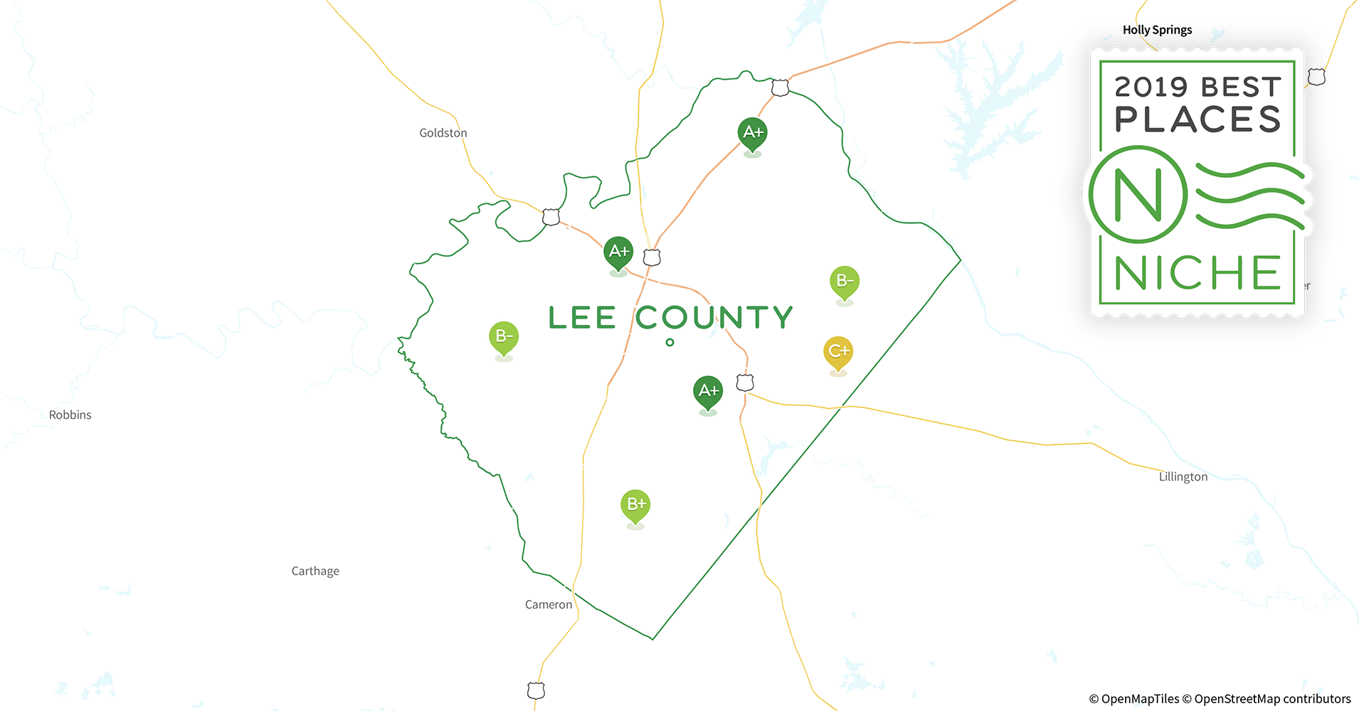 2019 Best Places To Live In Lee County Nc Niche