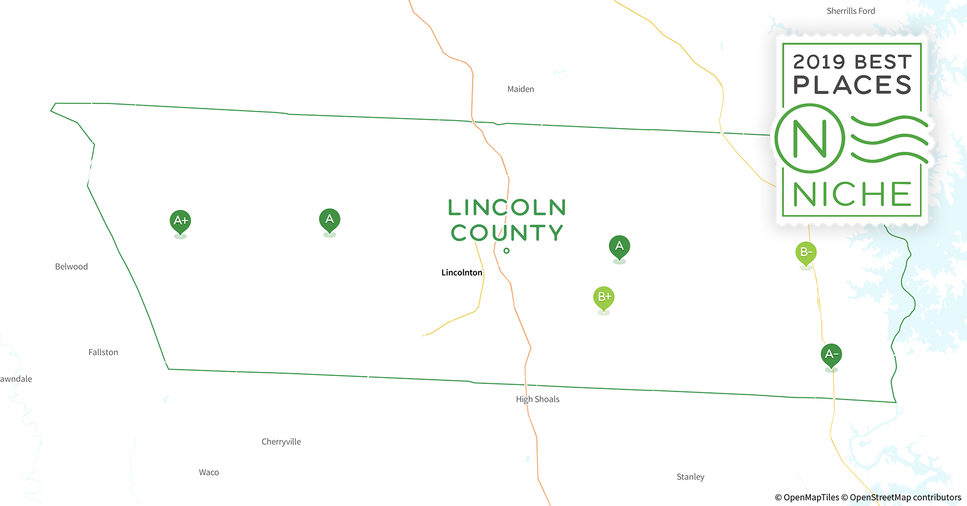 2019 Best Places To Live In Lincoln County Nc Niche