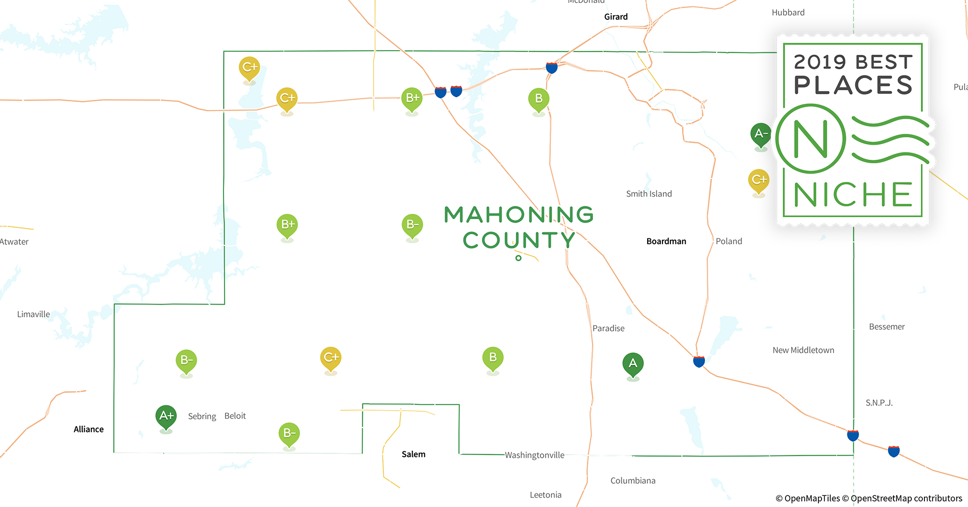 2019 Best Places to Live in Mahoning County, OH - Niche