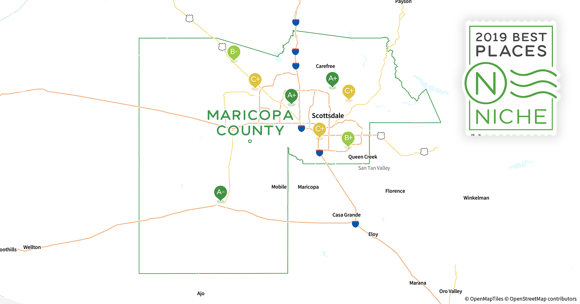 2019 Best Places to Live in Maricopa County, AZ - Niche