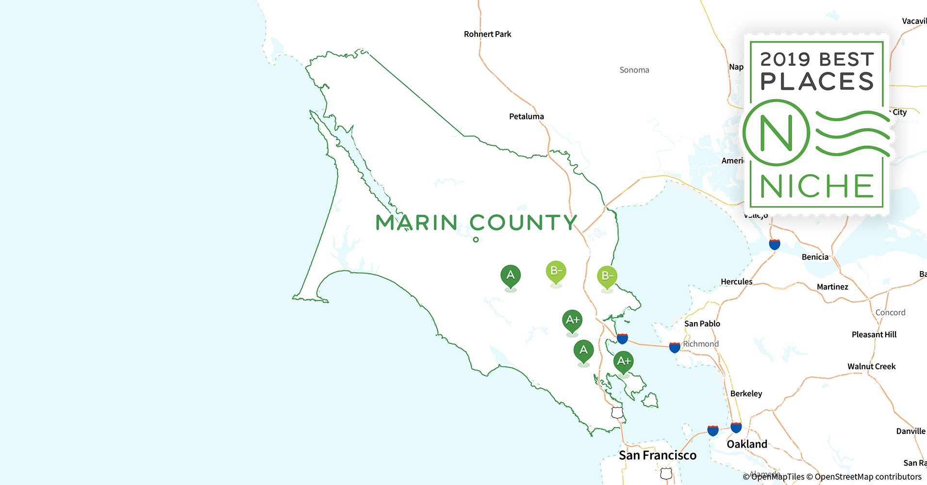 2019 Safe Places To Live In Marin County Ca Niche