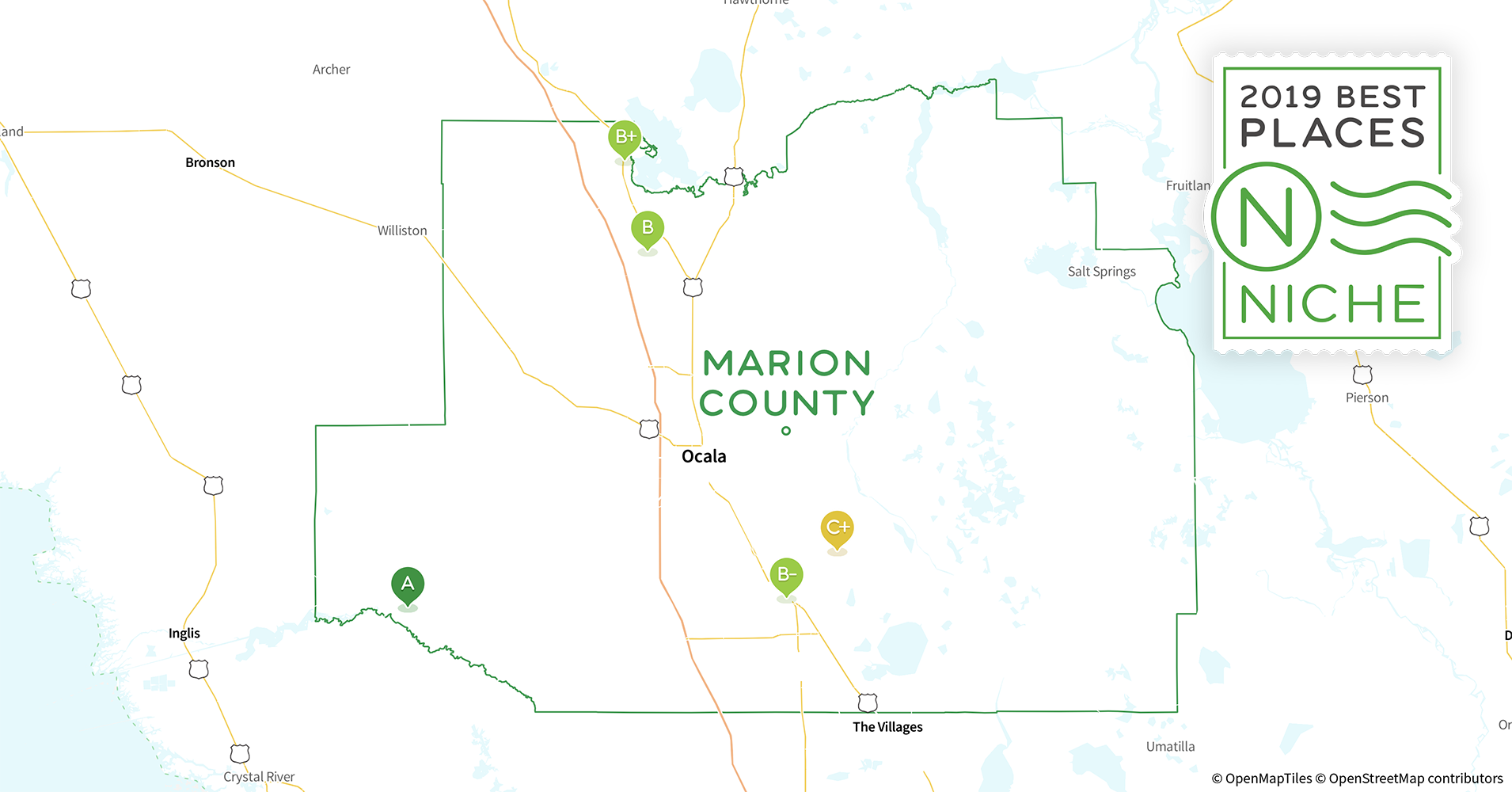 2019 Best Places To Live In Marion County Fl Niche