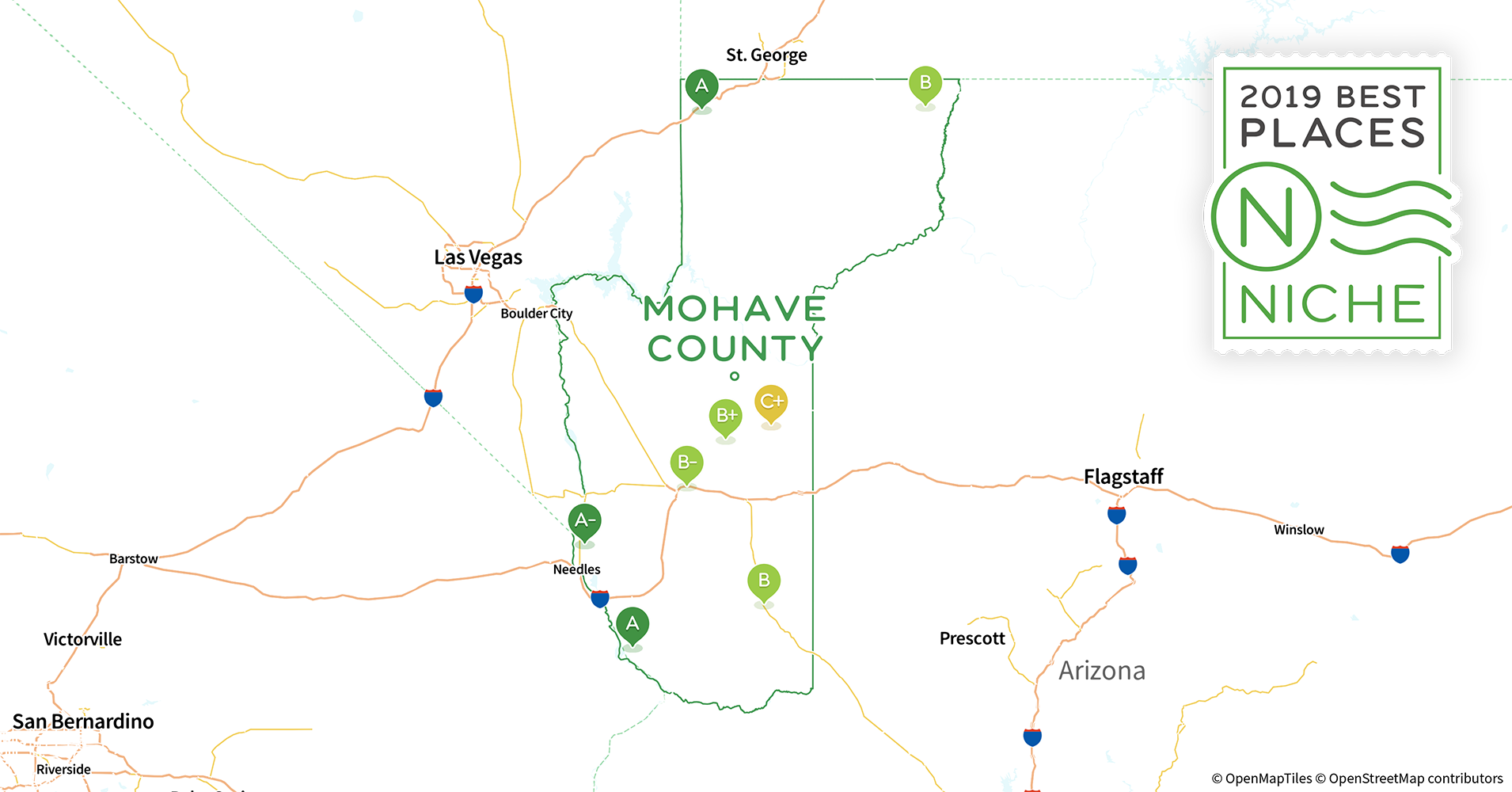 2019 Best Places to Live in Mohave County, AZ - Niche