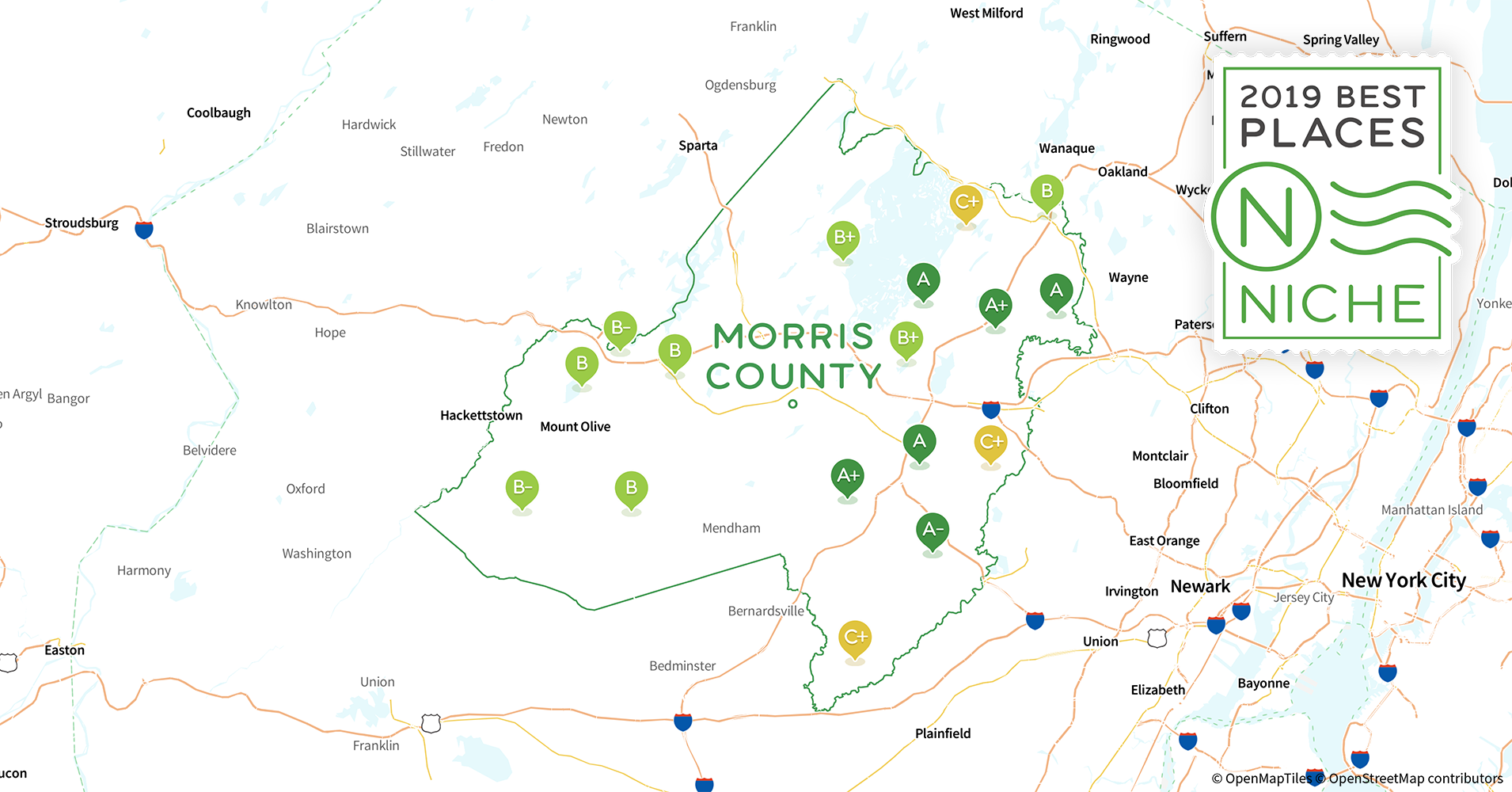 2019 Best Places to Live in Morris County, NJ - Niche