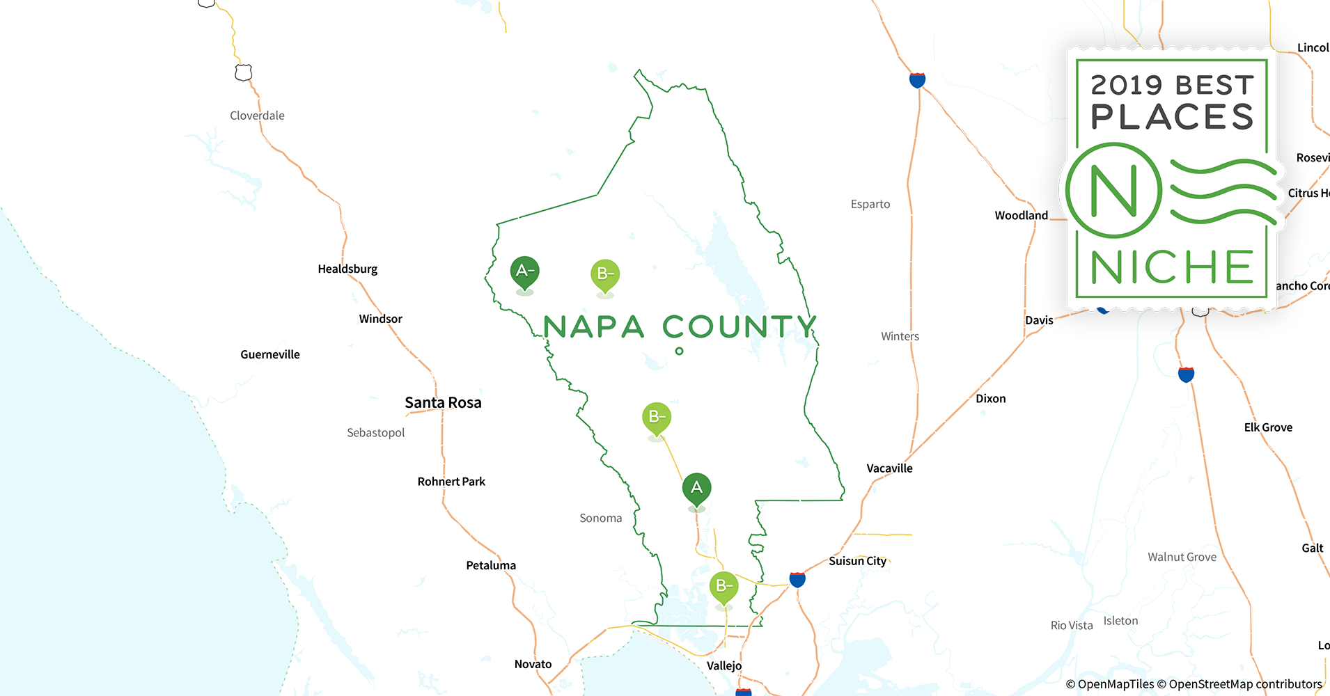 Napa Zip Code Map.2019 Best Places To Live In Napa County Ca Niche