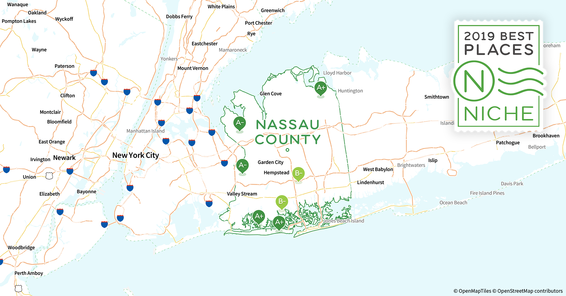 2019 Most Diverse Places to Live in Nassau County, NY - Niche