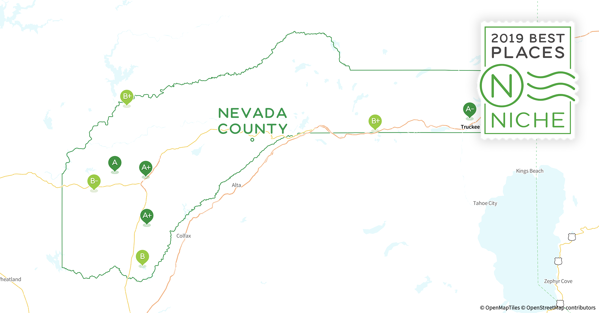 2019 Best Places To Live In Nevada County Ca Niche