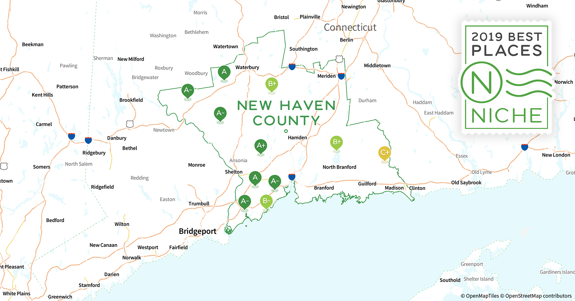 2019 Best Places to Live in New Haven County, CT - Niche
