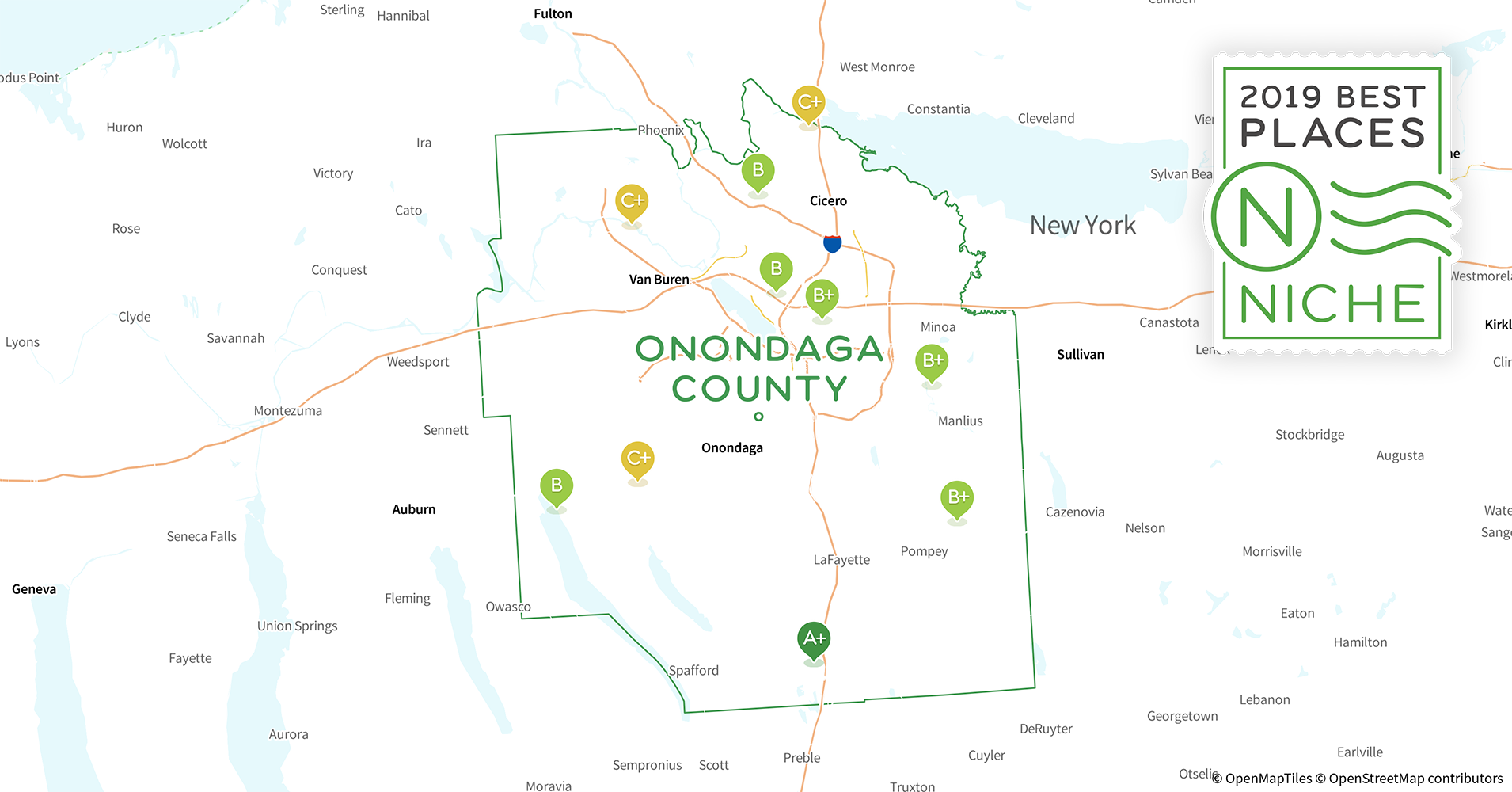 2019 Best Places to Live in Onondaga County, NY - Niche