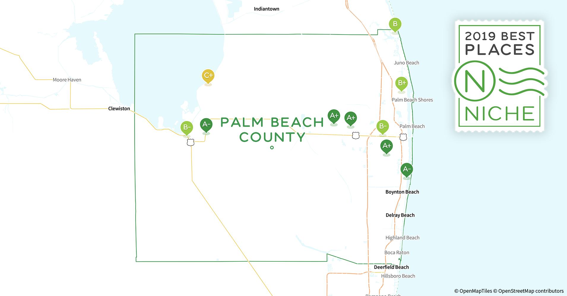Palm Beach Gardens Zip Code Map.2019 Best Places To Live In Palm Beach County Fl Niche