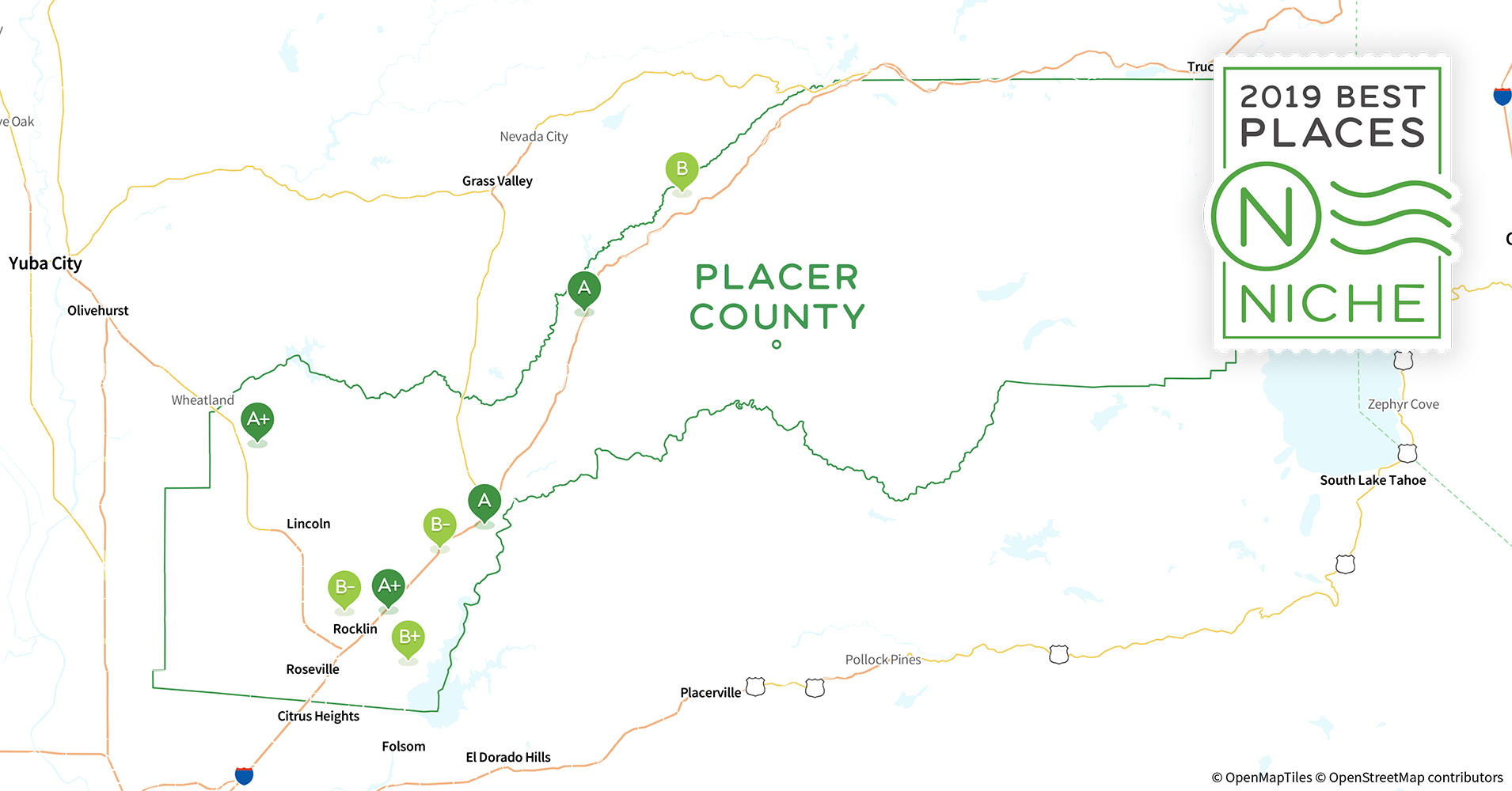 2019 Safe Places to Live in Placer County, CA - Niche