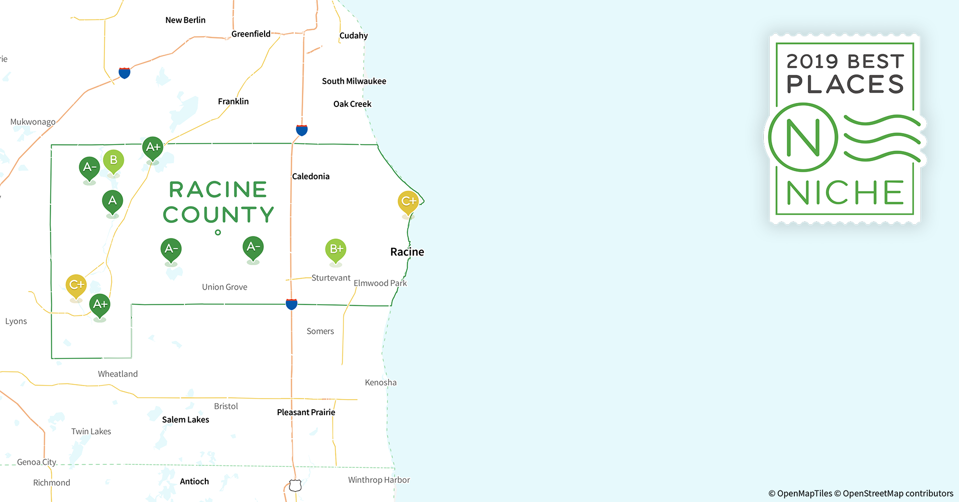 2019 Best Places to Live in Racine County, WI - Niche Town Of Union Wi Door County Map on map of algoma wi, map of city of madison wi, map of jacksonport wi, map of the fox valley wi, map of black river falls wi, map of ohio by county, map of washington island wi, map of liberty grove wi, map of green bay wi, map of apostle islands wi, map of menomonie wi, map of racine wi, map of de soto wi, map of wisconsin, map of lakewood wi, map of beloit wi, map of peninsula state park wi, map of castle rock lake wi, map of baileys harbor wi,