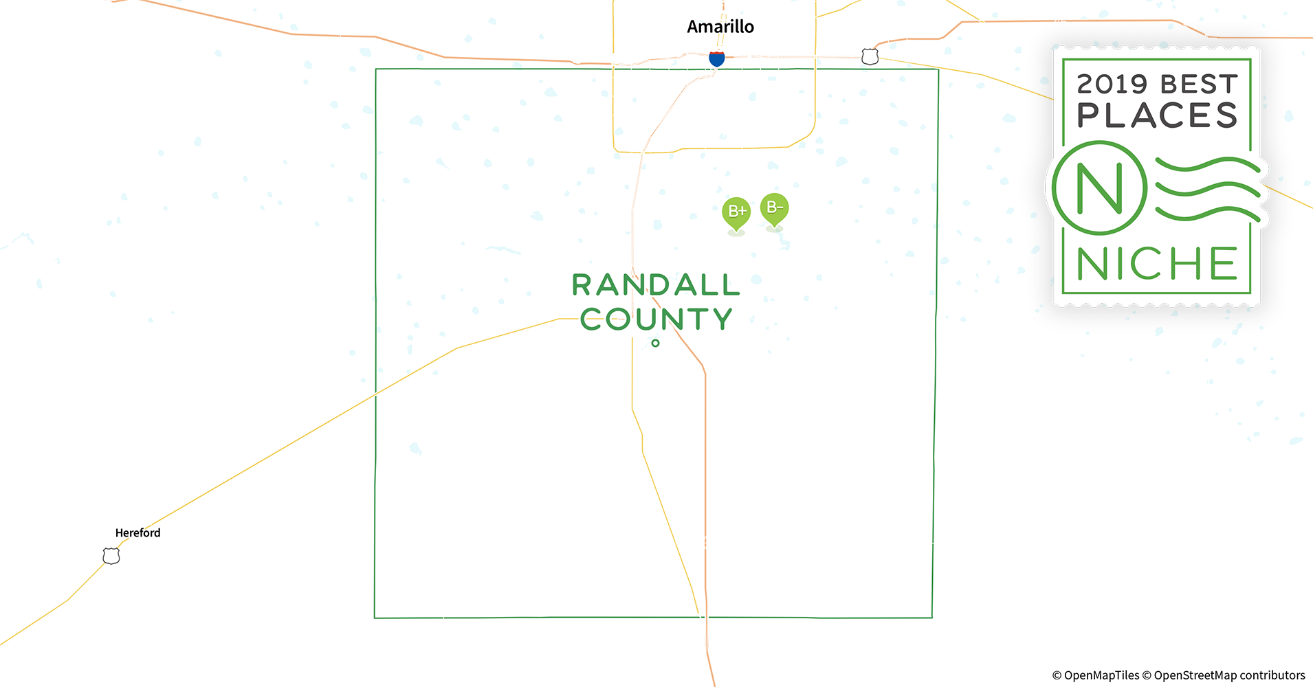 2019 Best Places to Live in Randall County, TX - Niche