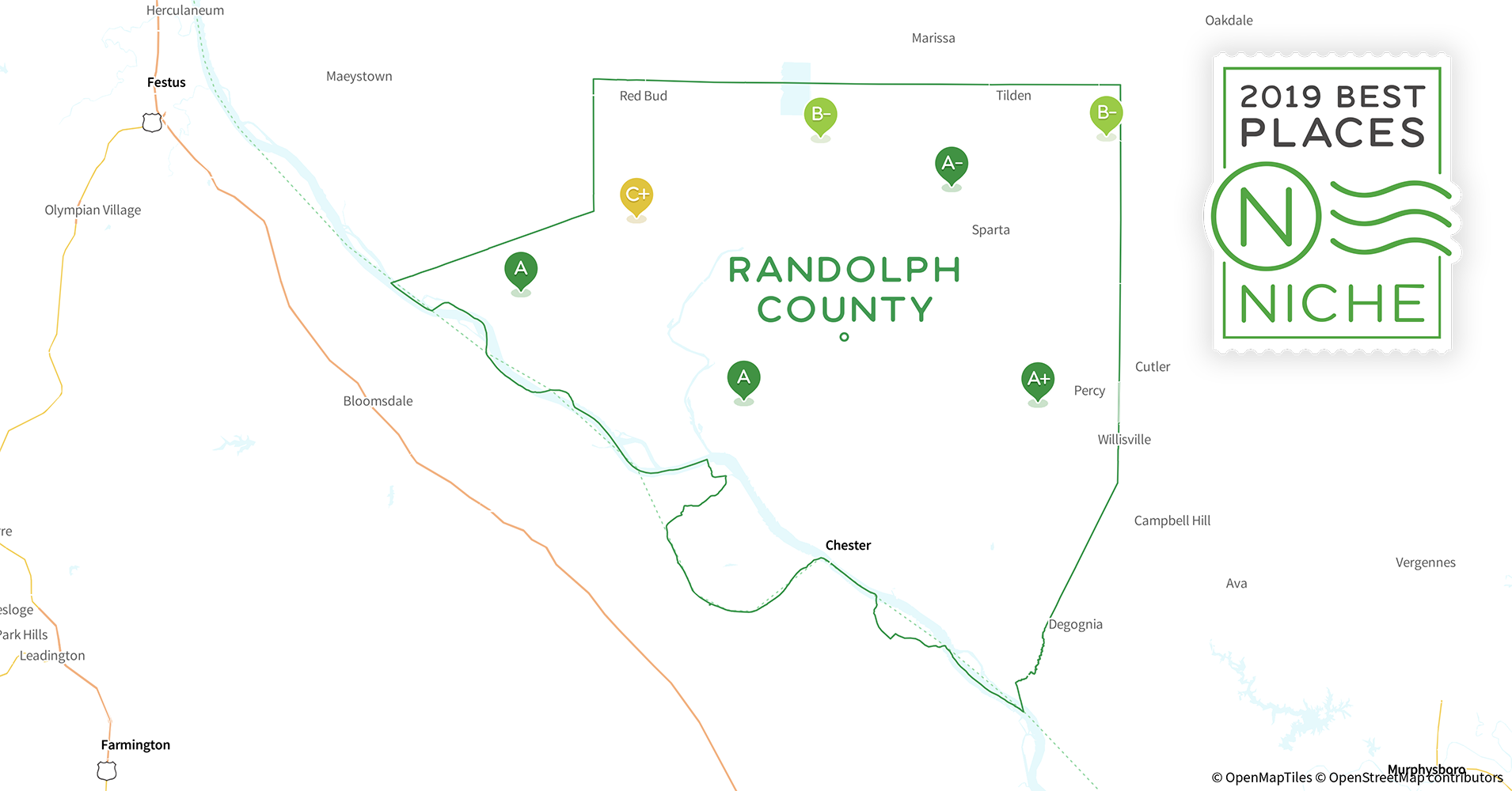 2019 Best Places to Live in Randolph County, IL - Niche