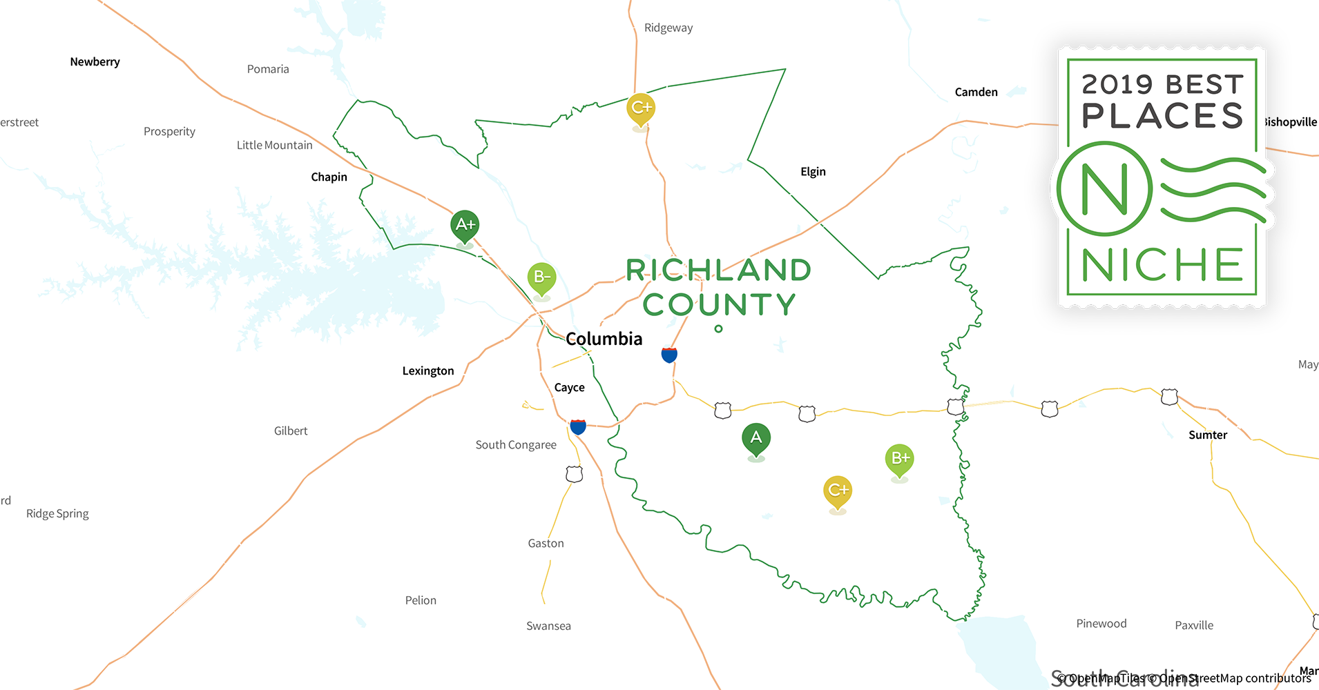2019 Best Places to Live in Richland County, SC - Niche
