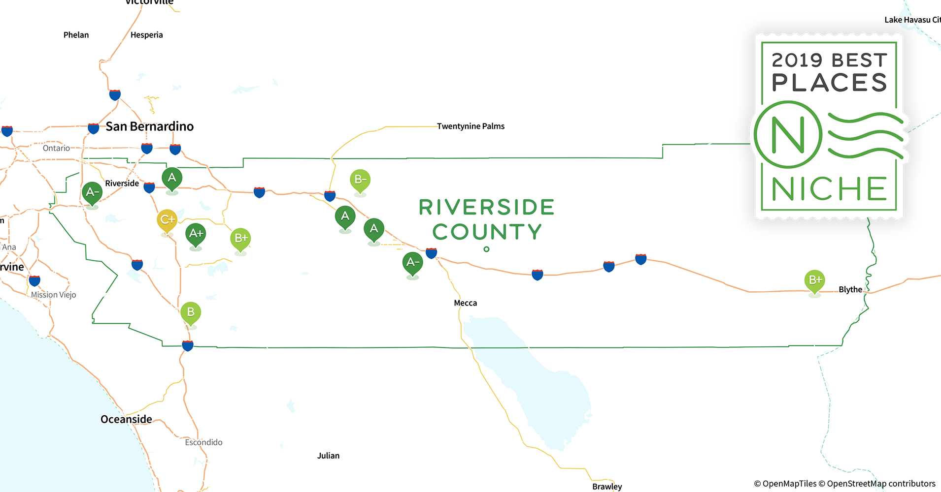 Perris Zip Code Map.2019 Safe Places To Live In Riverside County Ca Niche
