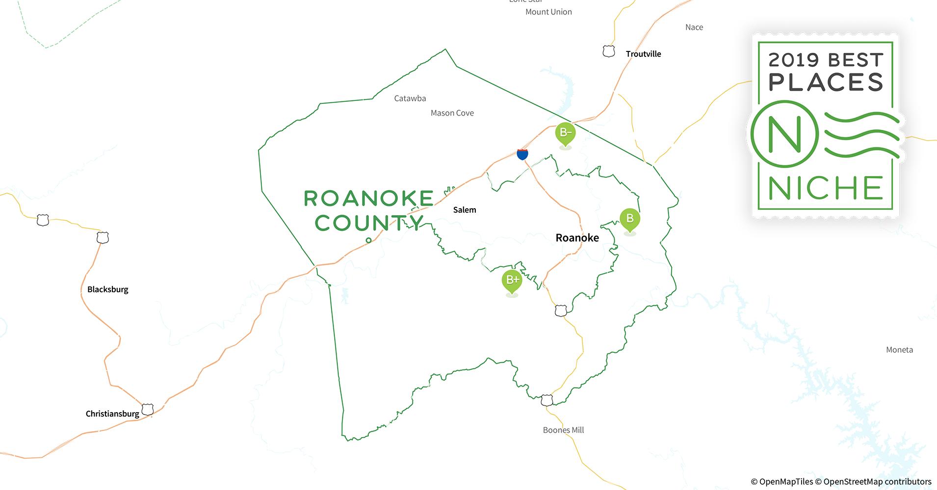 Roanoke Zip Code Map.2019 Best Places To Live In Roanoke County Va Niche