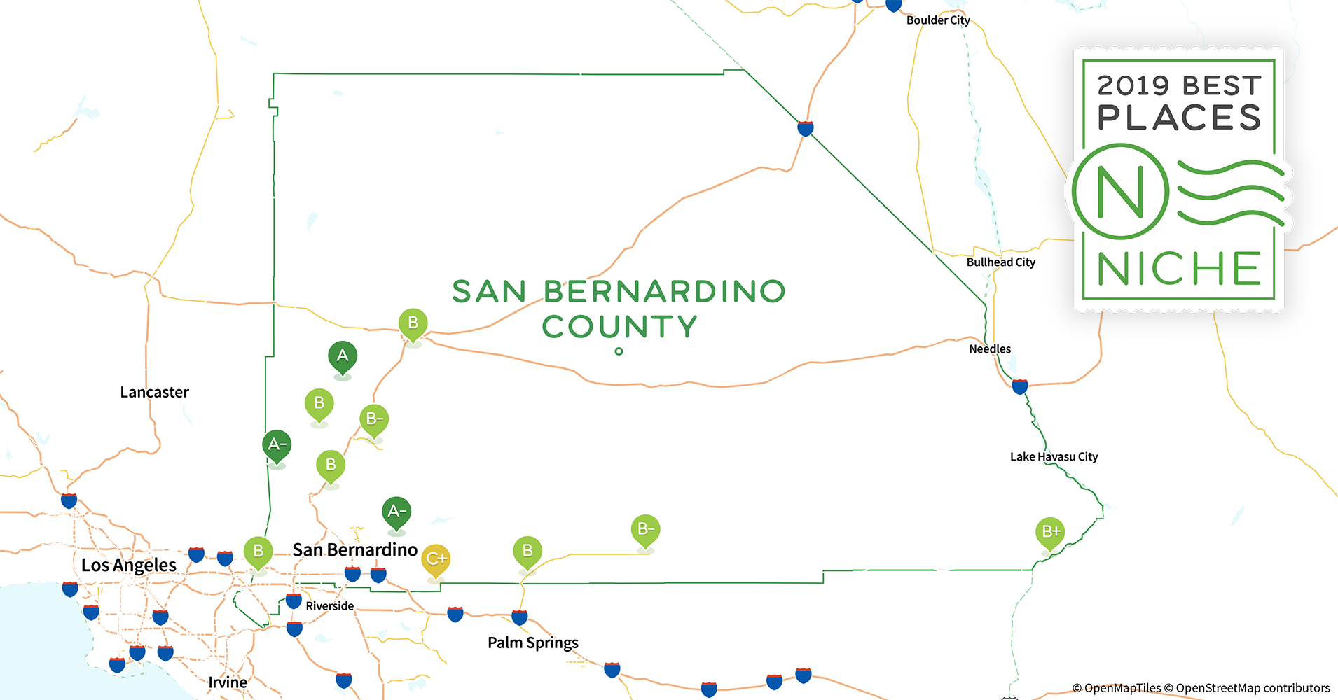 Upland Zip Code Map.2019 Best Places To Live In San Bernardino County Ca Niche