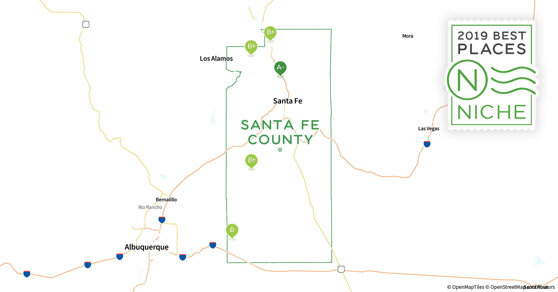2019 Best Places to Live in Santa Fe County, NM - Niche