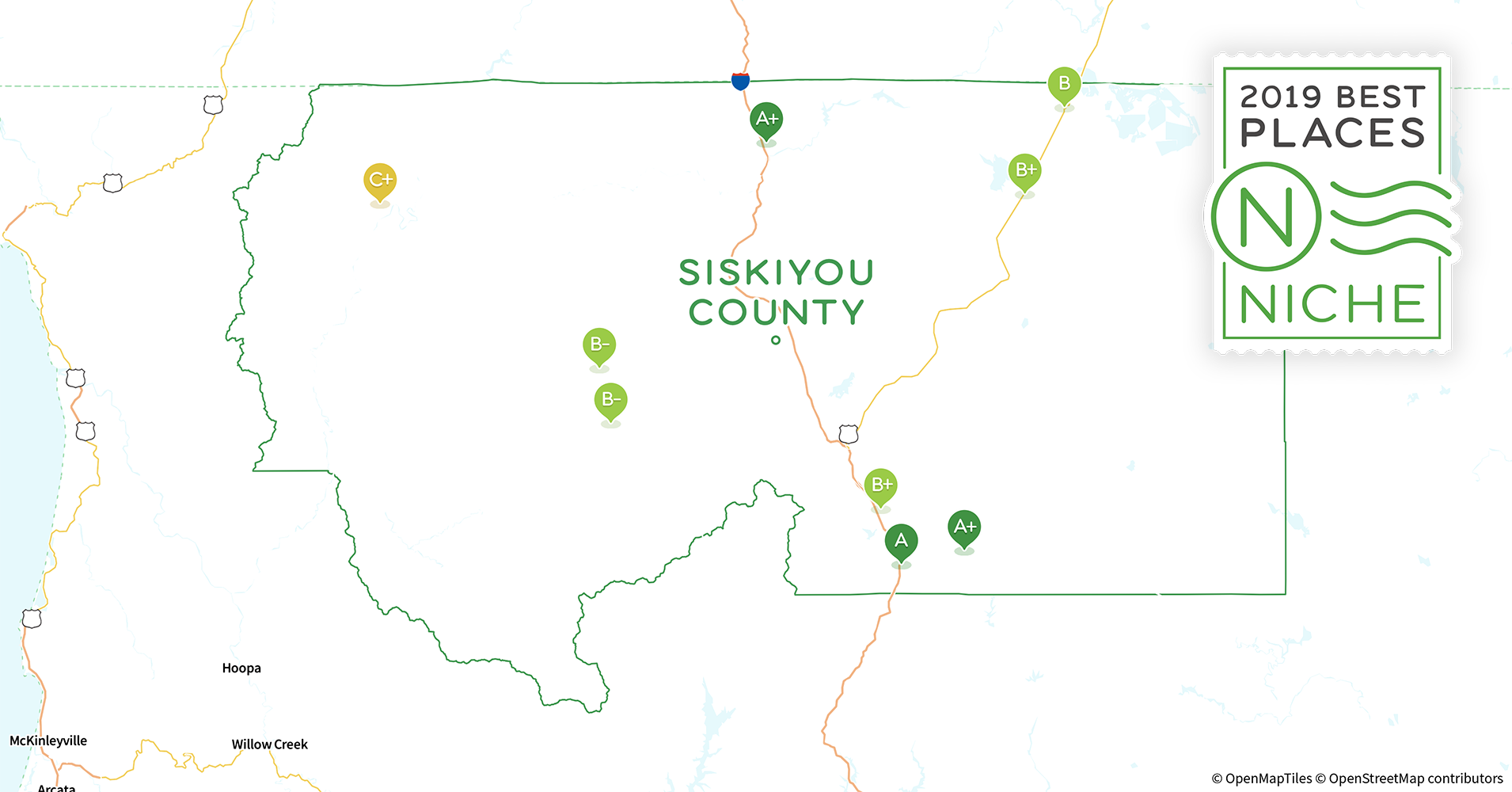 2019 Best Places To Live In Siskiyou County Ca Niche