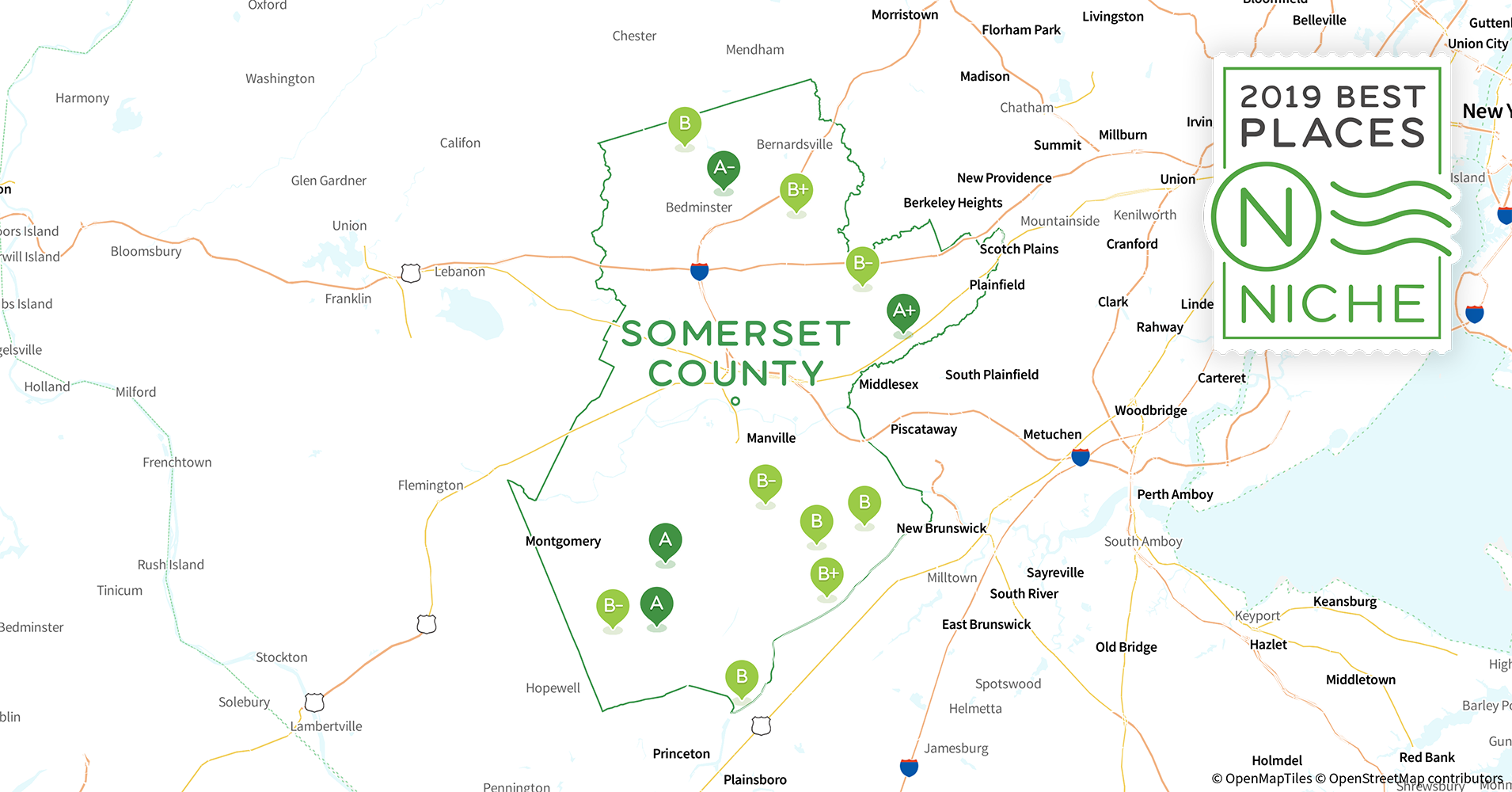 2019 Most Diverse Places To Live In Somerset County Nj Niche