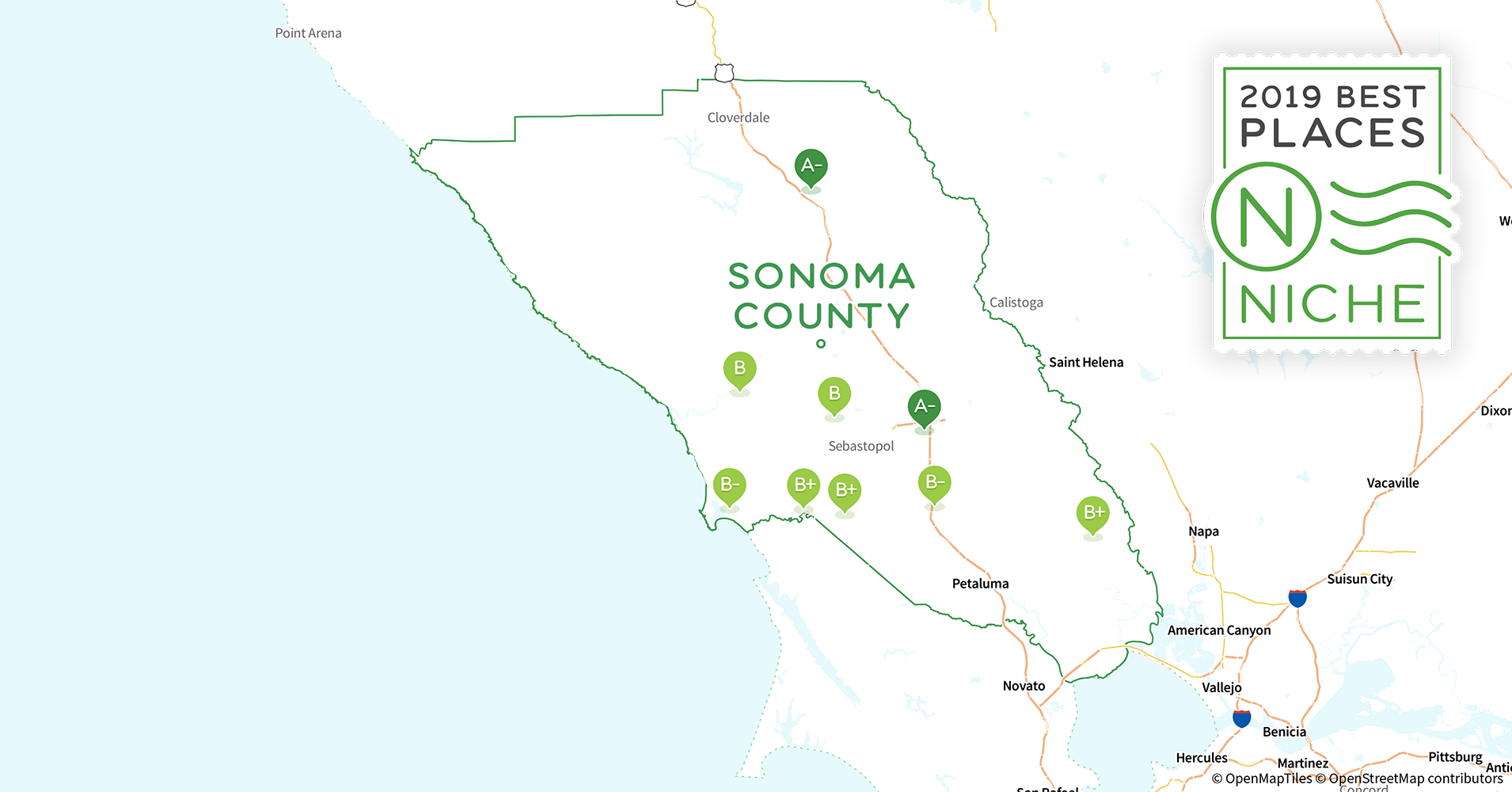 Sonoma Zip Code Map.2019 Best Places To Live In Sonoma County Ca Niche