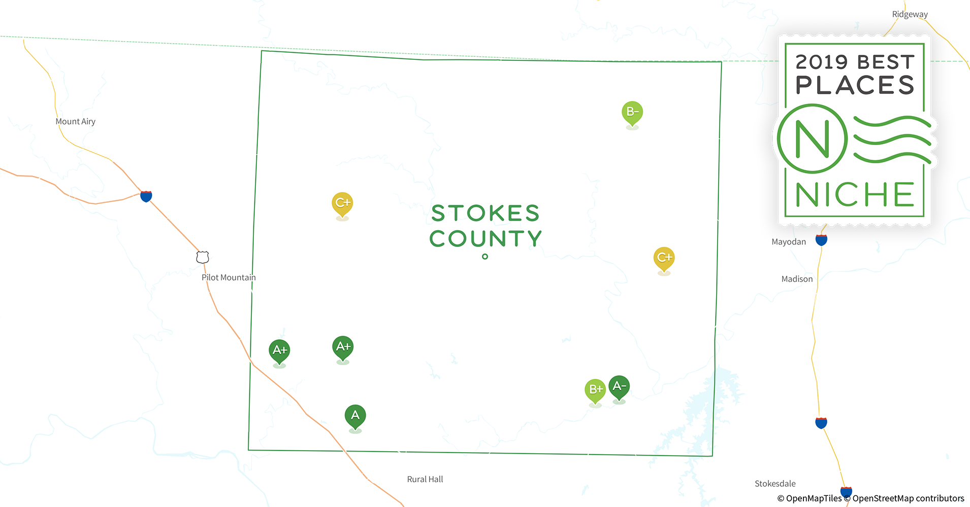 2019 Best Places To Live In Stokes County Nc Niche