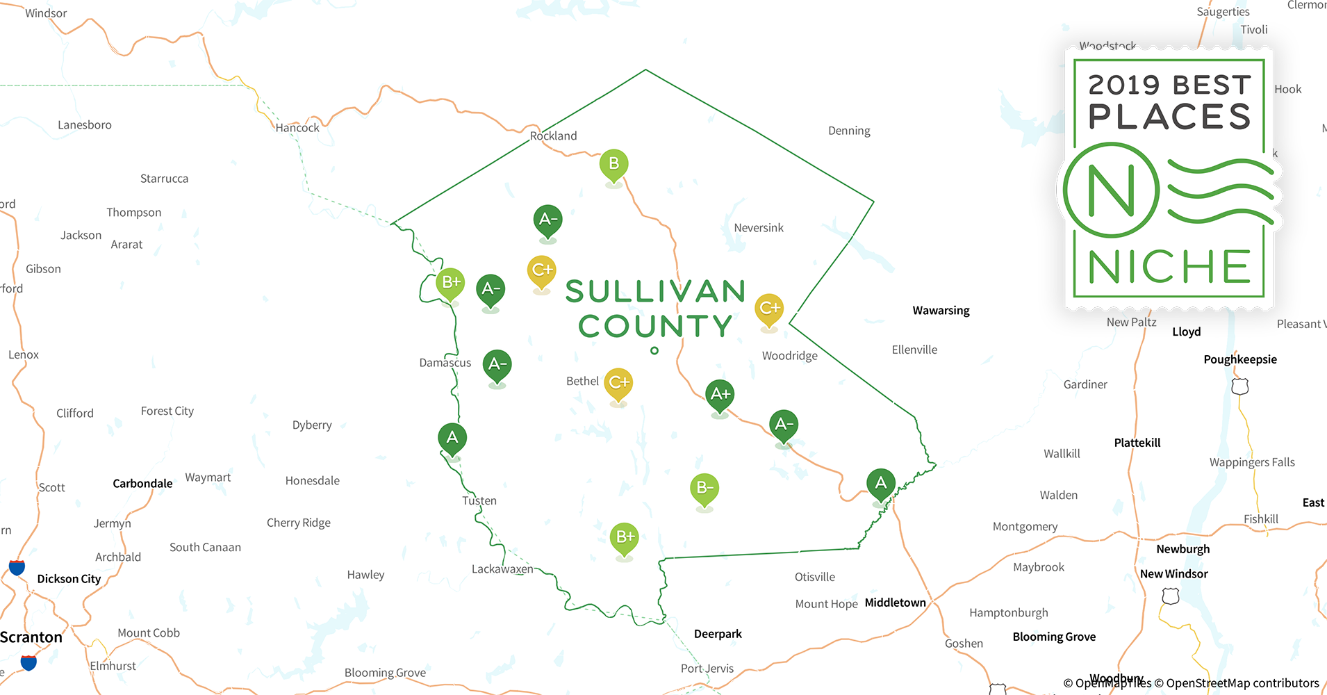 2019 best places to retire in sullivan county  ny