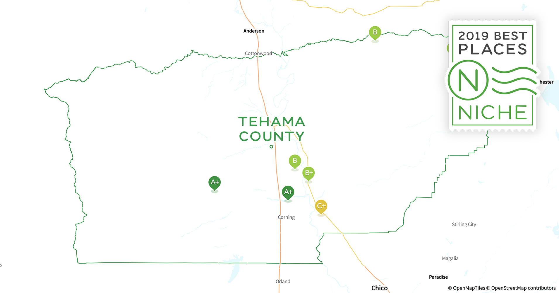 2019 Best Places To Live In Tehama County Ca Niche