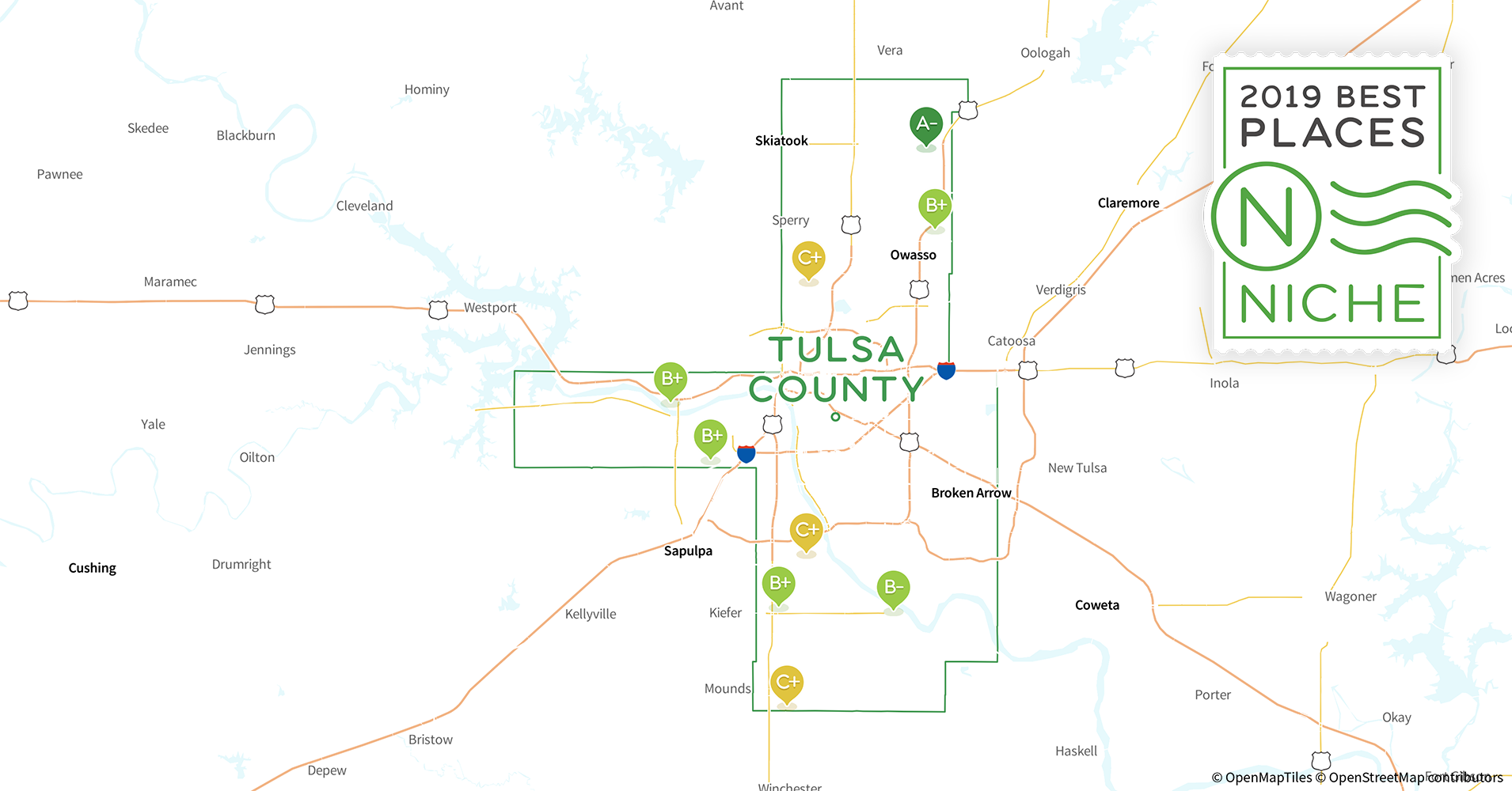 2019 Best Places To Live In Tulsa County Ok Niche