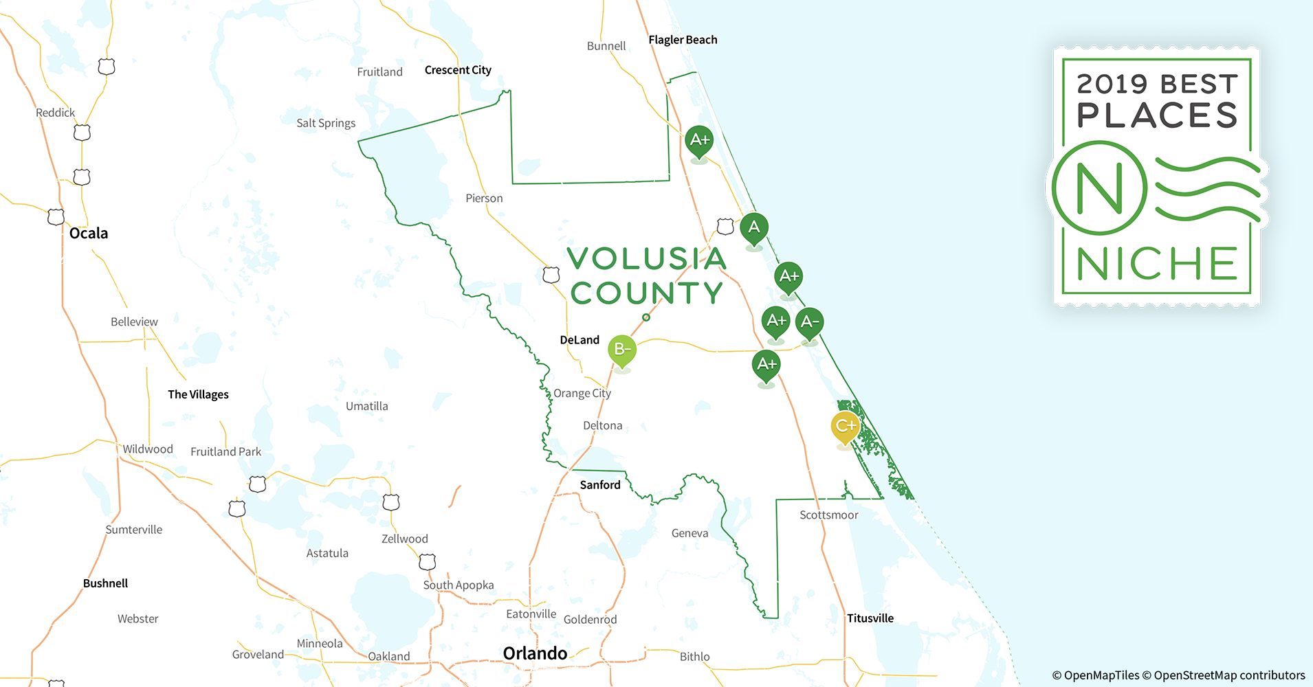 2019 Best Places To Live In Volusia County Fl Niche