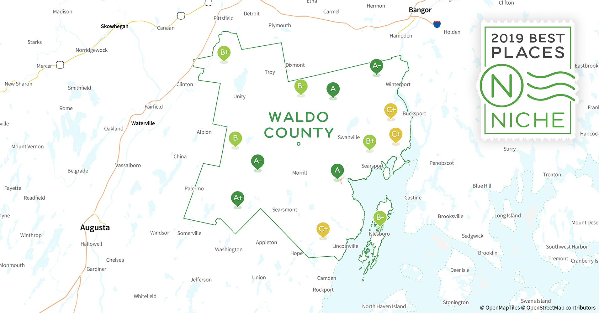 Best Of The Best Waldo County 2019 2019 Best Places to Live in Waldo County, ME   Niche