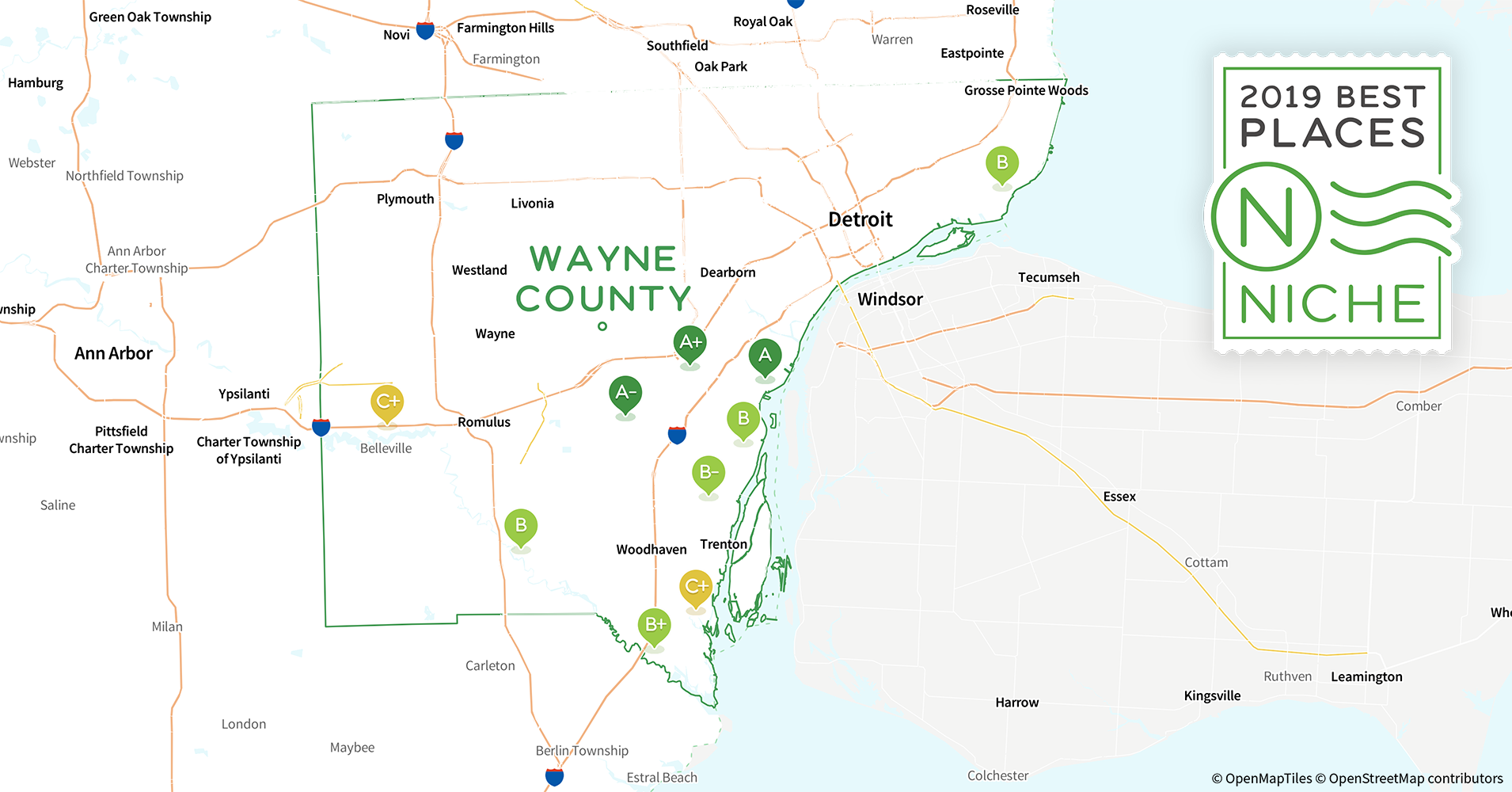 2019 Safe Places To Live In Wayne County Mi Niche