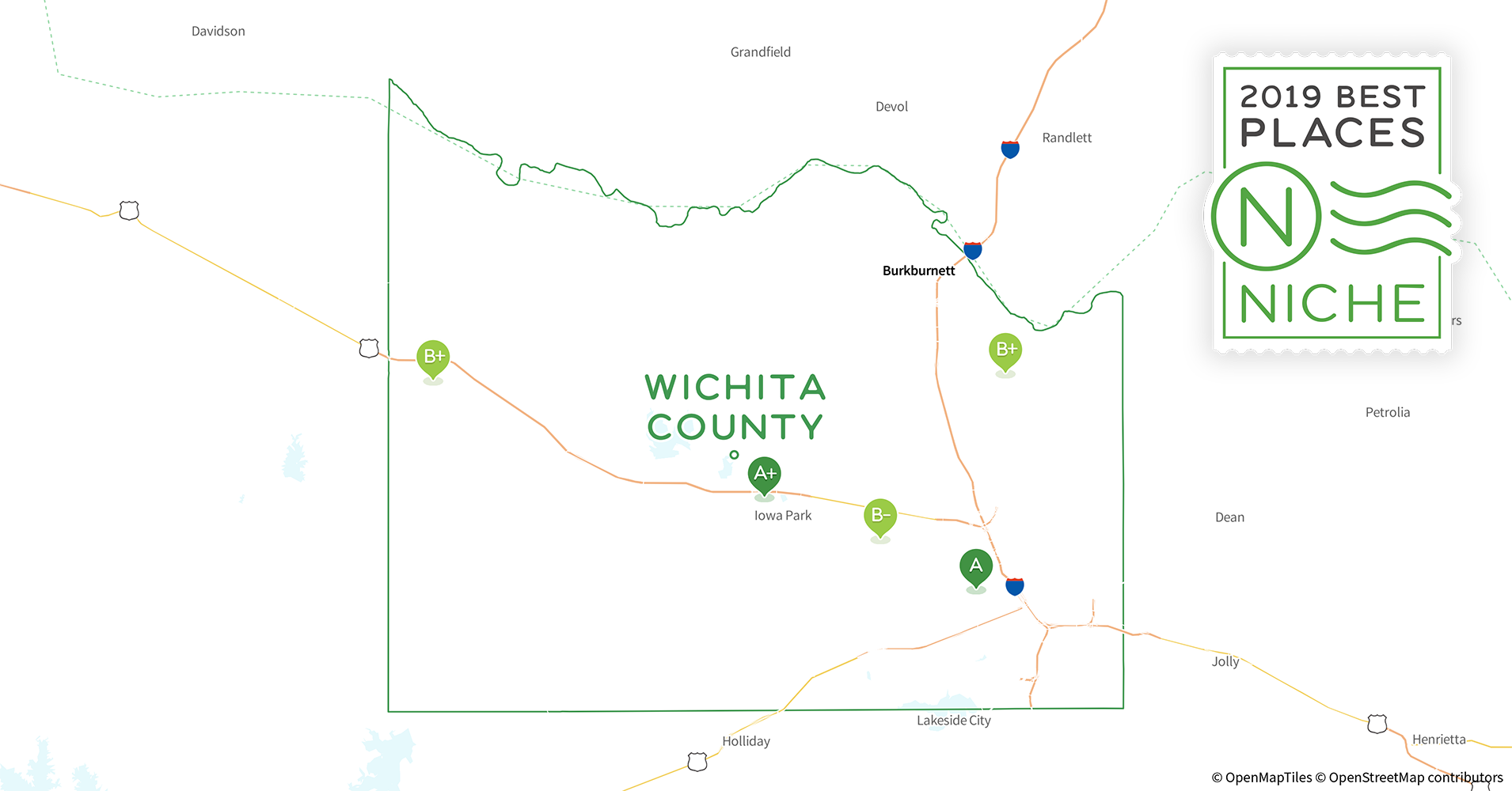 2019 Best Places To Live In Wichita County Tx Niche