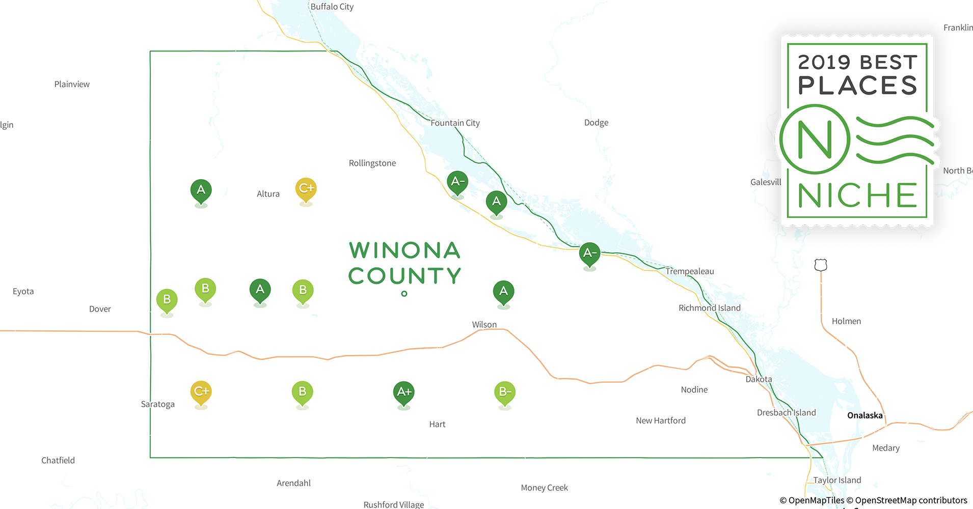 2019 Best Places To Live In Winona County Mn Niche