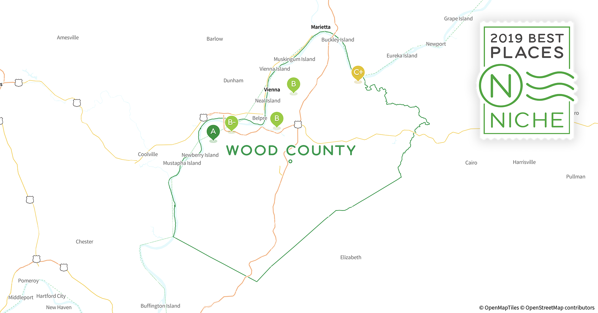 2019 Safe Places to Live in Wood County, WV - Niche