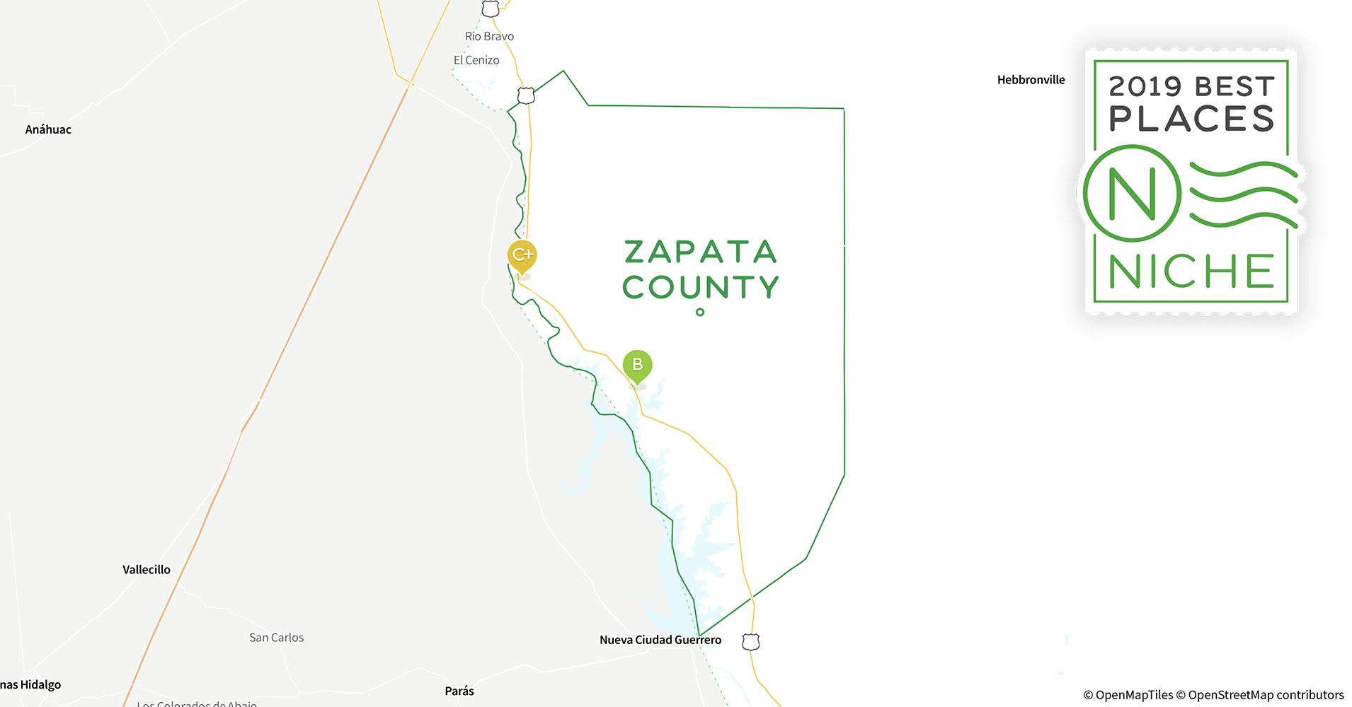 Map Of Zapata Texas.2019 Best Places To Live In Zapata County Tx Niche