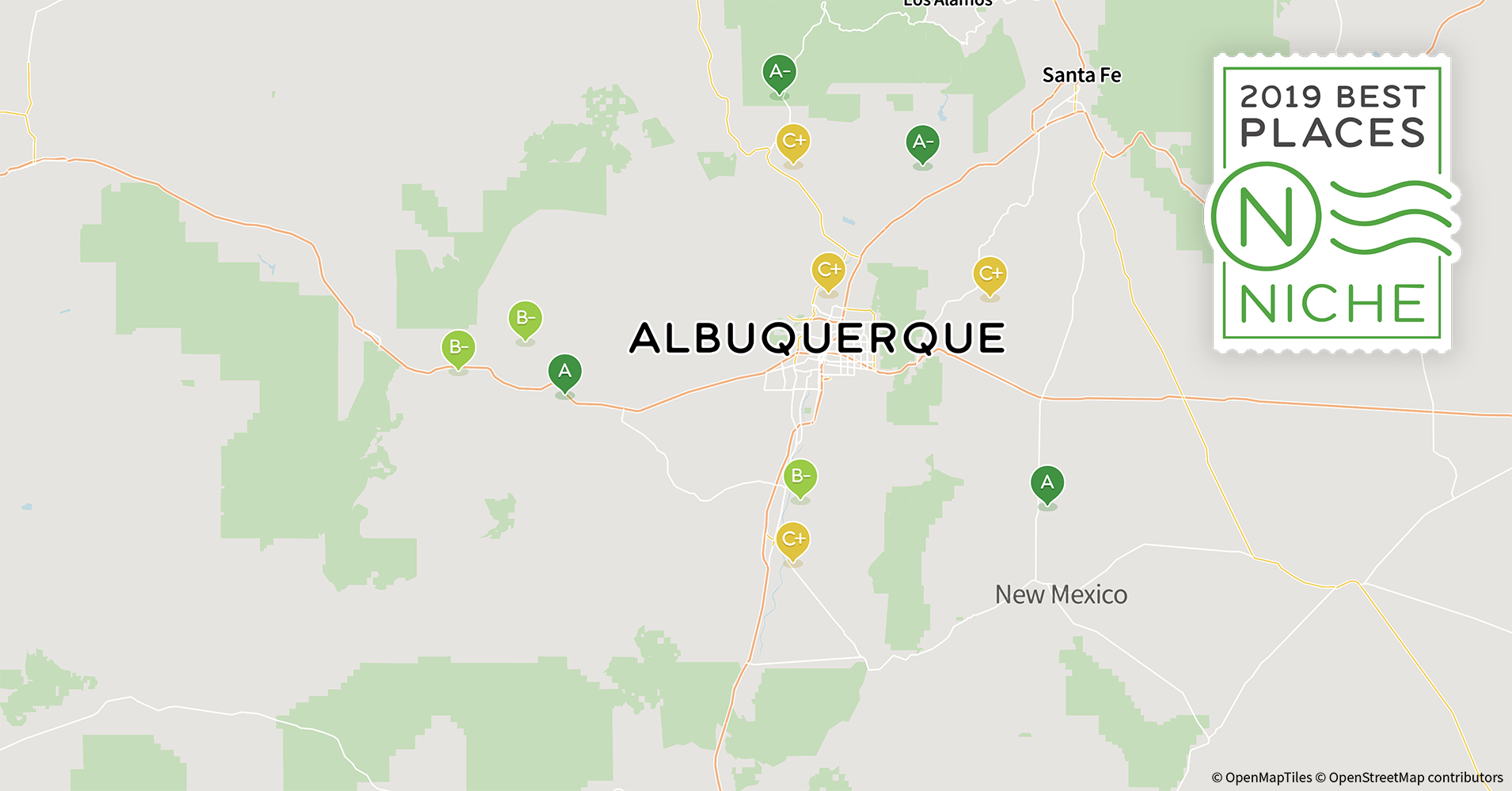 2019 Best Places To Live In The Albuquerque Area Niche