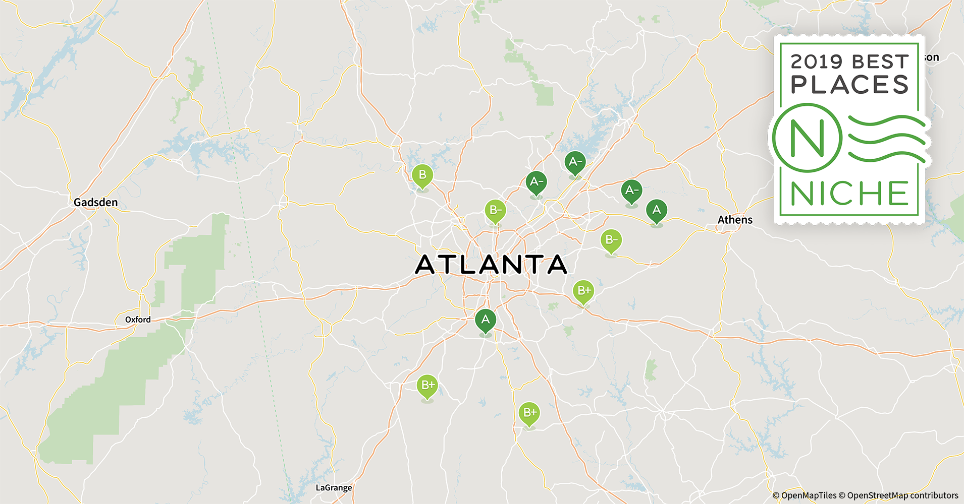 2019 Best Atlanta Area Suburbs To Live Niche