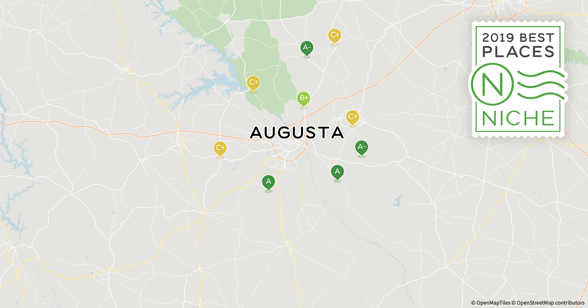 2019 Best Places to Live in the Augusta Area - Niche