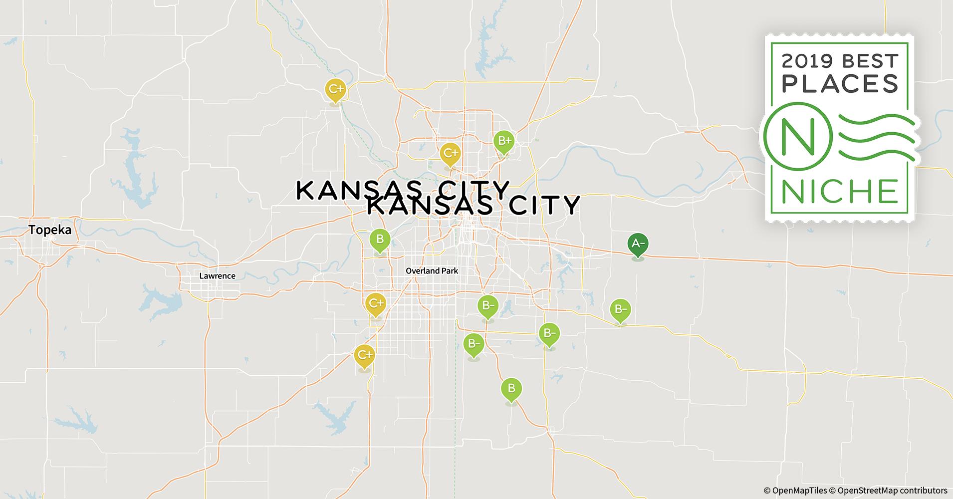 2019 Safe Neighborhoods in Kansas City Area - Niche