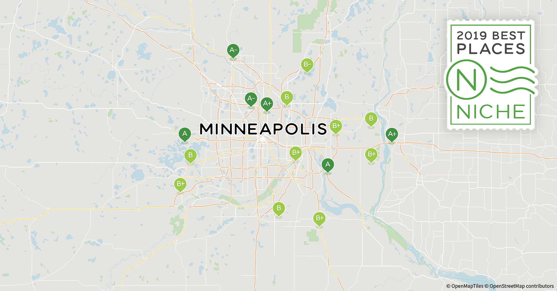2019 Safe Neighborhoods in Minneapolis-St. Paul Area - Niche