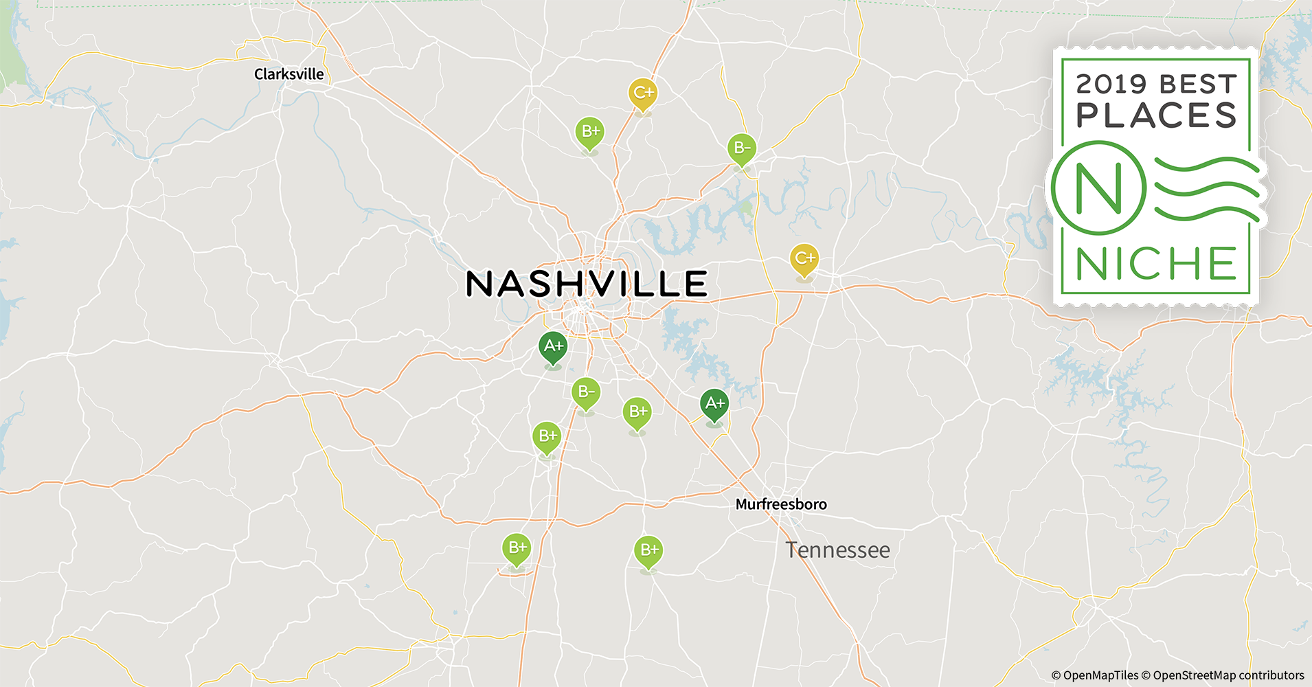 Spring Hill Tn Zip Code Map.2019 Best Nashville Area Suburbs To Live Niche