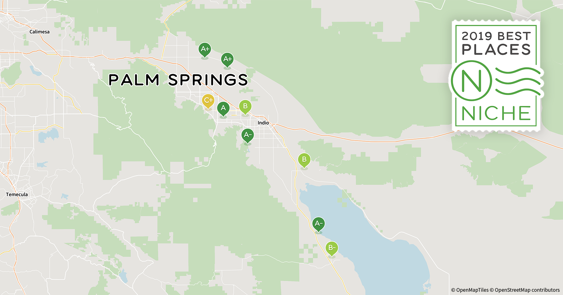Rancho Mirage Zip Code Map.2019 Best Places To Live In The Palm Springs Area Niche