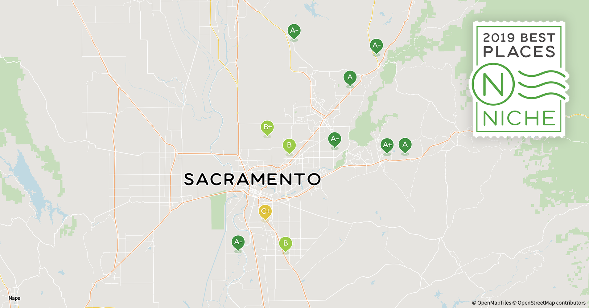 Rancho Cordova Zip Code Map.2019 Best Sacramento Area Suburbs To Live Niche