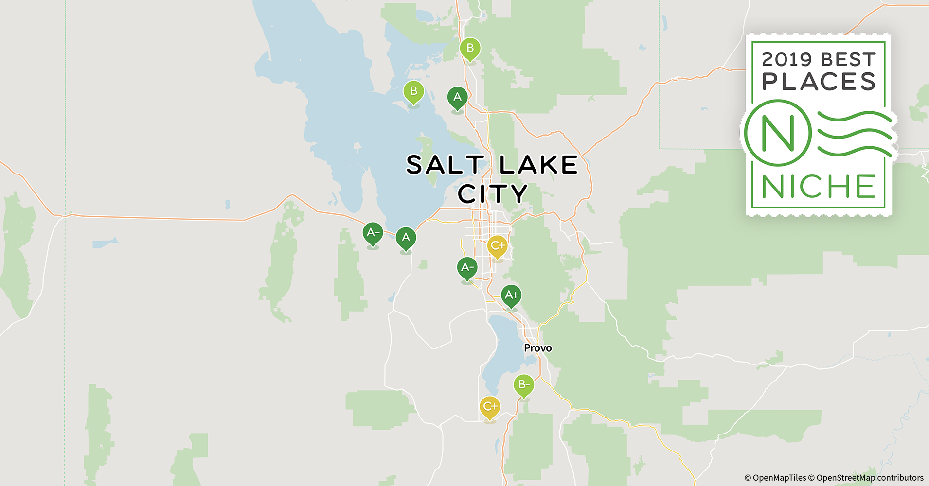 Salt Lake City Time Zone Map.2019 Best Salt Lake City Area Suburbs To Live Niche