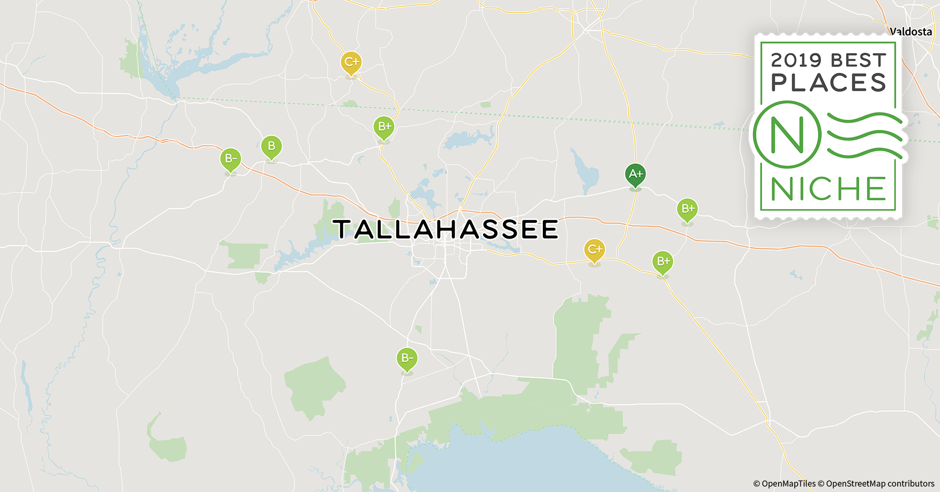 2019 Best Places to Retire in Tallahassee Area - Niche