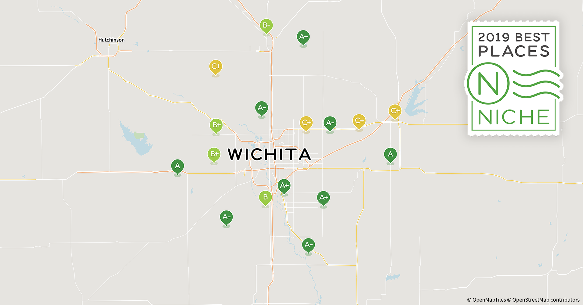 2019 Best Wichita Area Suburbs for Families - Niche Zip Code Map Wichita Ks on